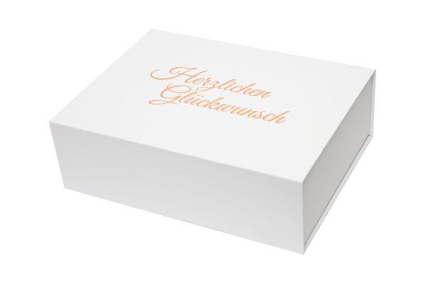 """Geschenkbox """"Herzlichen Glückwunsch"""" 1007GW"""