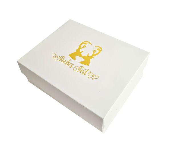 Weihnachtsgeschenkbox Flensburg 25x20x10/5 cm 5105FF25053