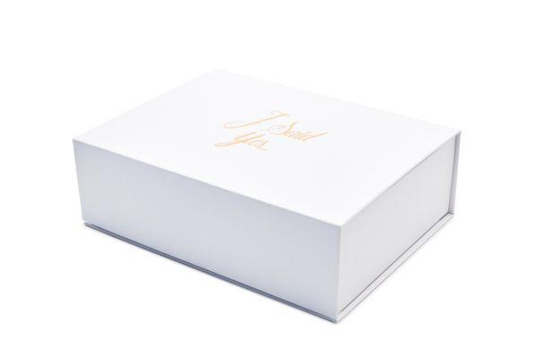 "Hochzeitsmagnetbox ""I said yes"" 1007ISY23053"