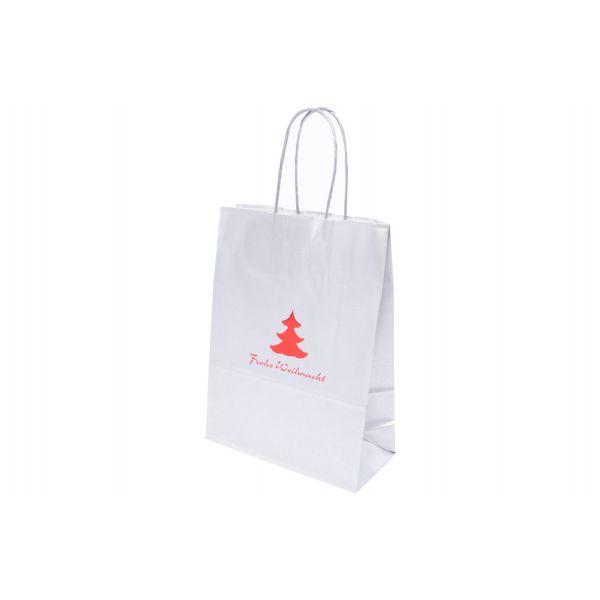"""Weihnachtstasche """"Landshut"""" silber 3707WB"""