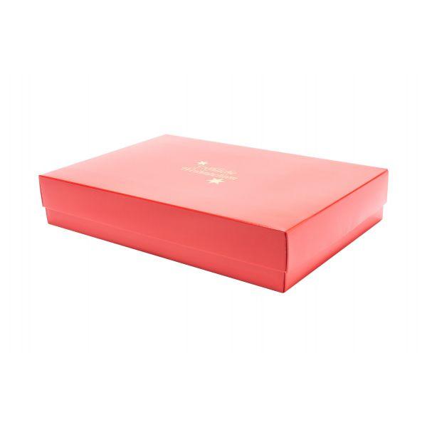 """Geschenkbox für Weihnachten """"Uelzen"""" 33x22x6/4 cm 5105FW33"""