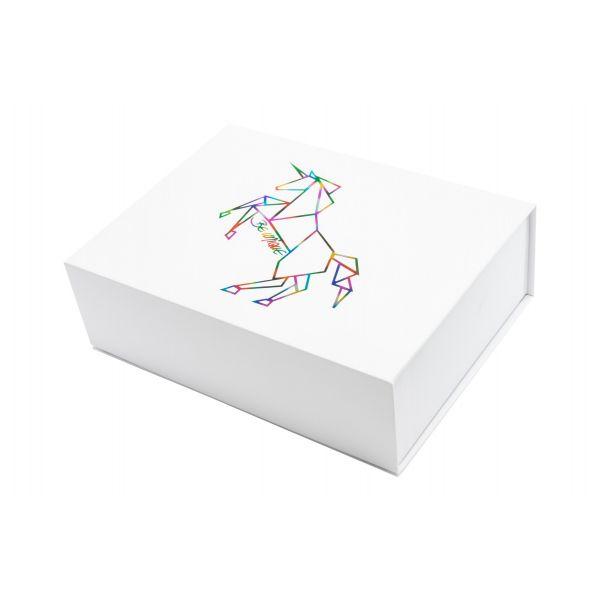 """Magnetbox """"Einhorn"""" 23x17x7 cm weiss 1007EW23089"""